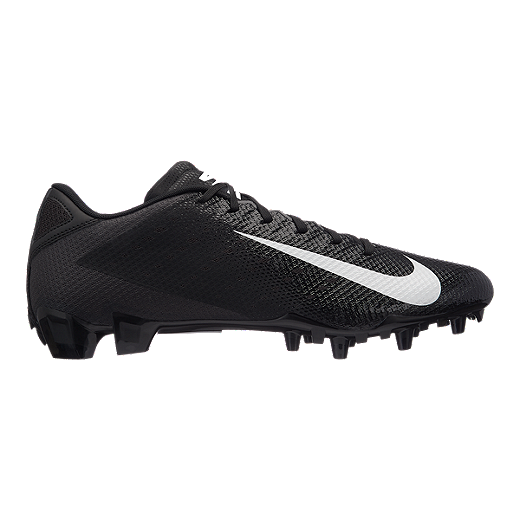 5cf382c1477 Nike Men s Vapor Untouchable Speed 3 TD Low Football Cleats - Black -  BLACK WHITE