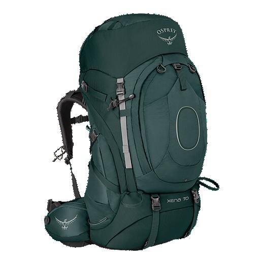 8406cc080da9 Osprey Women's Xena 70L Backpack - Canopy Green | Sport Chek