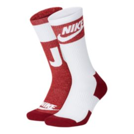 Nike Sportswear Men's Just Do It Crew Socks 2 - Pack