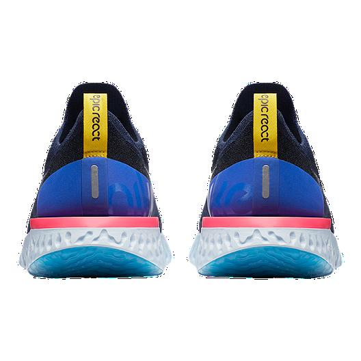 buy online 29168 16ac0 Nike Men s Epic React Flyknit Running Shoes - Navy Blue. (0). View  Description