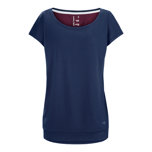 Ardena Short Midnight Sleeve Arc'teryx Women's Top ZiOuPkX