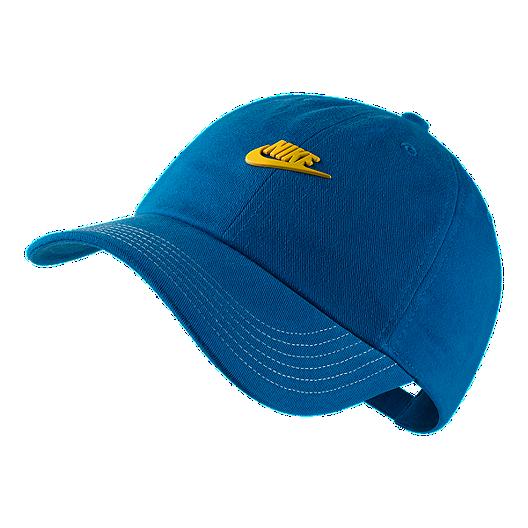 6a33066ff34 Nike Kids  Heritage86 Hat - Blue Nebula   Tour Yellow