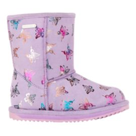 EMU Girls' Flutter Brumby Waterproof Winter Boots - Lavender