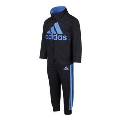 Adidas Baby Boys Amplified Net Embossed Jacket Bottoms Set