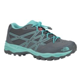 The North Face Girls' Hedgehog Hiker Hiking Shoes - Dark Gray