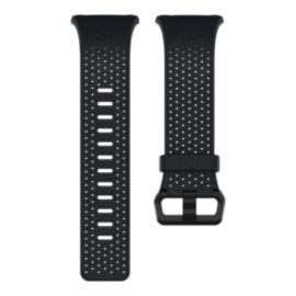 Fitbit Ionic Perforated Leather Accessory Band – Midnight Blue Small