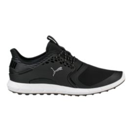 PUMA Golf Men's IGNITE PWRSPORT Golf Shoes - Black/Silver