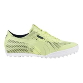 PUMA Golf Women's Monolite Cat Woven Golf Shoes - Lime
