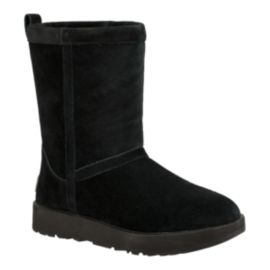 UGG Women's Classic Short Waterproof Boots - Black