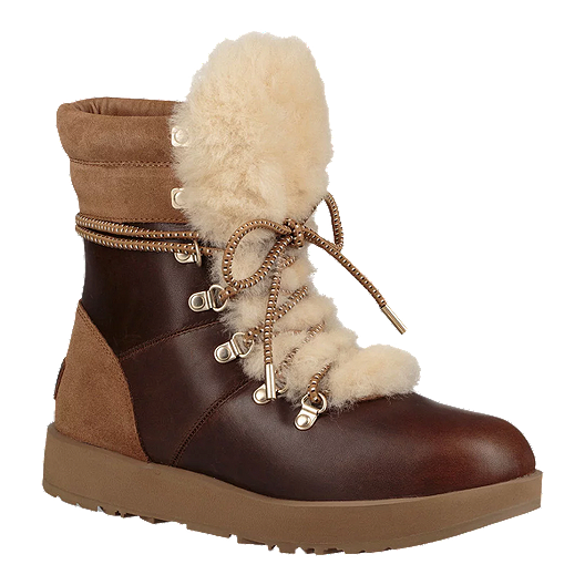 84868b6ea35 UGG Women's Viki Waterproof Winter Boots - Chestnut