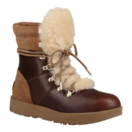 UGG Women's Viki Waterproof Winter Boots - Chestnut