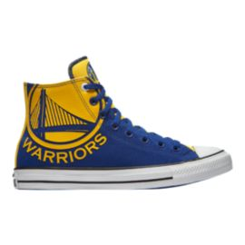 Converse Men's Chuck SE NBA Golden State Warriors Franchise High Top - Blue