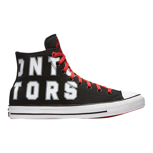 344c18d81699ce Converse Men s Chuck SE NBA Toronto Raptors Franchise High Top - Red ...