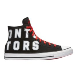 Converse Men's Chuck SE NBA Toronto Raptors Franchise High Top - Red