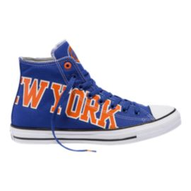Converse Men's Chuck SE NBA New York Knicks Franchise High Top - Blue
