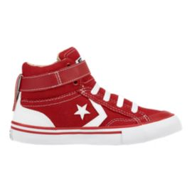 Converse Kids' Pro Blaze Strap Preschool Shoes - Red/White