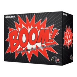 Strata Boom 24-Pack Golf Balls - White Balls Pack