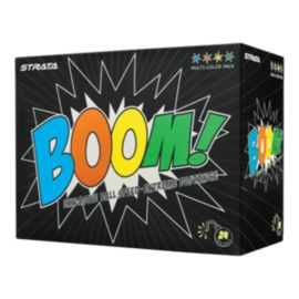Strata Boom 24-Pack Golf Balls - Multicolored Pack