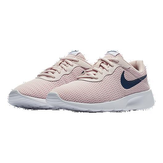 sports shoes ac747 2dc4c Nike Girls  Tanjun Grade School Shoes - Rose White
