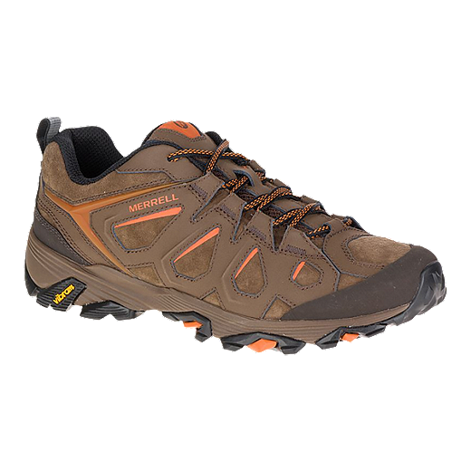 ff8c4c71438 Merrell Men's Moab FST Leather Hiking Shoes - Dark Earth   Sport Chek