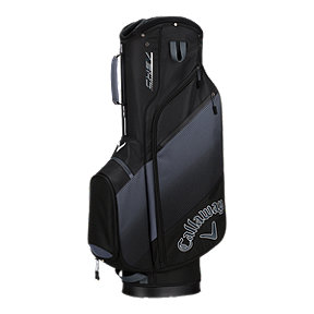 Callaway Chev 2018 Cart Bag - Black/Grey/White