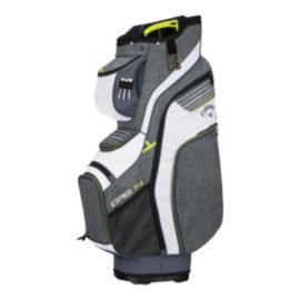 Callaway ORG 14 2018 Cart Bag - Grey/White/Green