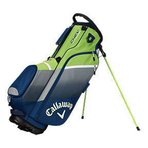 Callaway Chev 2018 Stand Bag - Navy/Silver/Green