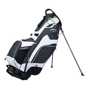 Callaway Fusion 14 2018 Stand Bag - Grey/White/Green