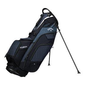 Callaway Fusion 14 2018 Stand Bag - Black/ Grey/White