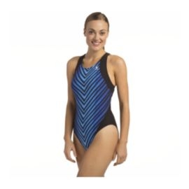 TYR Women's Nylon Printed Splice Maxfit With Cups