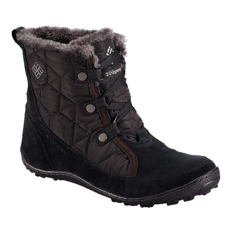 b6aa1f8b702ba9 Columbia Women's Minx Shorty Omni-Heat Winter Boots - Black   Sport Chek