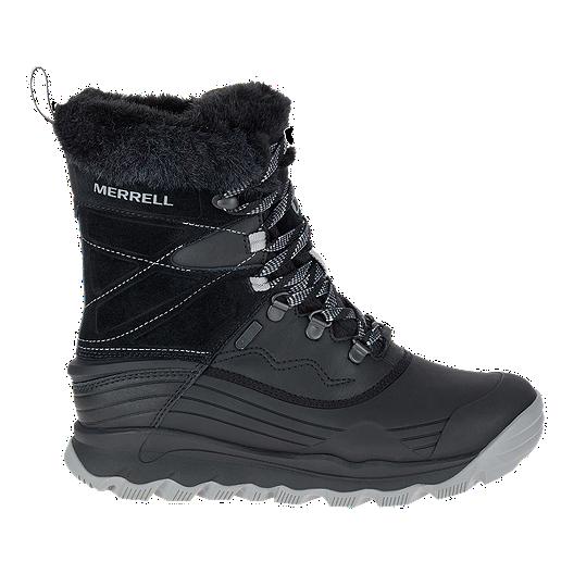 988e5740 Merrell Women's Thermo Vortex 8 Waterproof Winter Boots - Black
