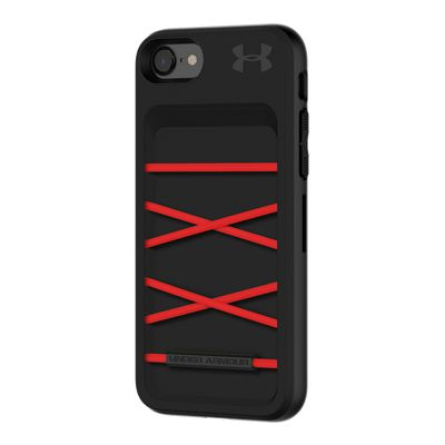 Under Armour UA Protect Arsenal Case for iPhone 8; 7 - Black/Red