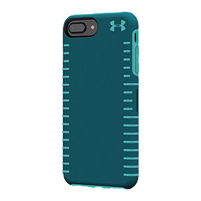Under Armour UA Protect Grip Case for iPhone 8, 7, 6/6s Plus/6s Plus - Tourmaline Teal/Desert Sky