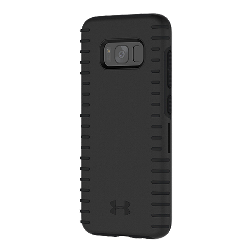 new product 01901 94c9d Under Armour UA Protect Grip Case for Samsung Galaxy S8 - Black/Black