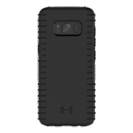 new product ebf6e cdd00 Under Armour UA Protect Grip Case for Samsung Galaxy S8 - Black/Black