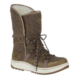 Sperry Women's Powder Icecap Winter Boots - Olive