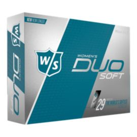 Wilson DUO Soft Women's Golf Balls - 12 Pack
