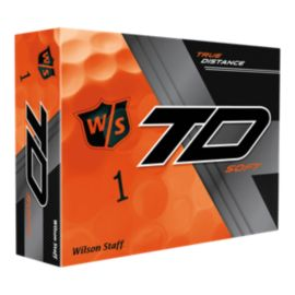 Wilson True Distance Soft Orange Golf Balls - 12 Pack