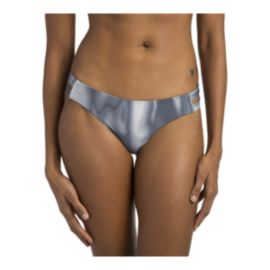 Hurley Women's Quick Dry Max Waves Surf Bikini Bottom