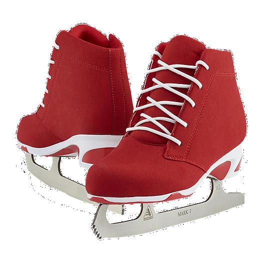 Softec Diva Red Figure Skates   Sport Chek