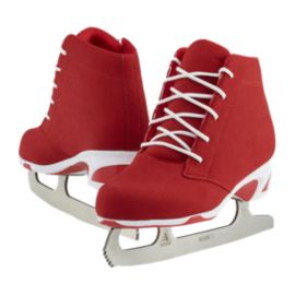Softec Diva Red Figure Skates