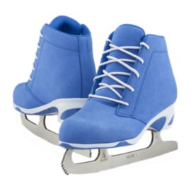 Softec Diva Blue Figure Skates