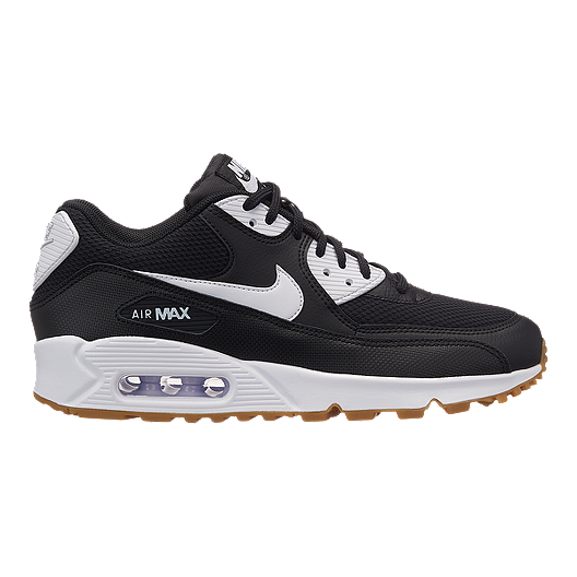 huge selection of 4b9f8 28894 Nike Women s Air Max 90 Shoes - Black White Gum   Sport Chek