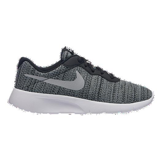 4bc244822d487 Nike Kids' Tanjun Grade School Shoes - Black/Wolf Grey/White | Sport Chek
