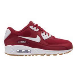 Nike Women's Air Max 90 Shoes - Red Crush/White/Gum