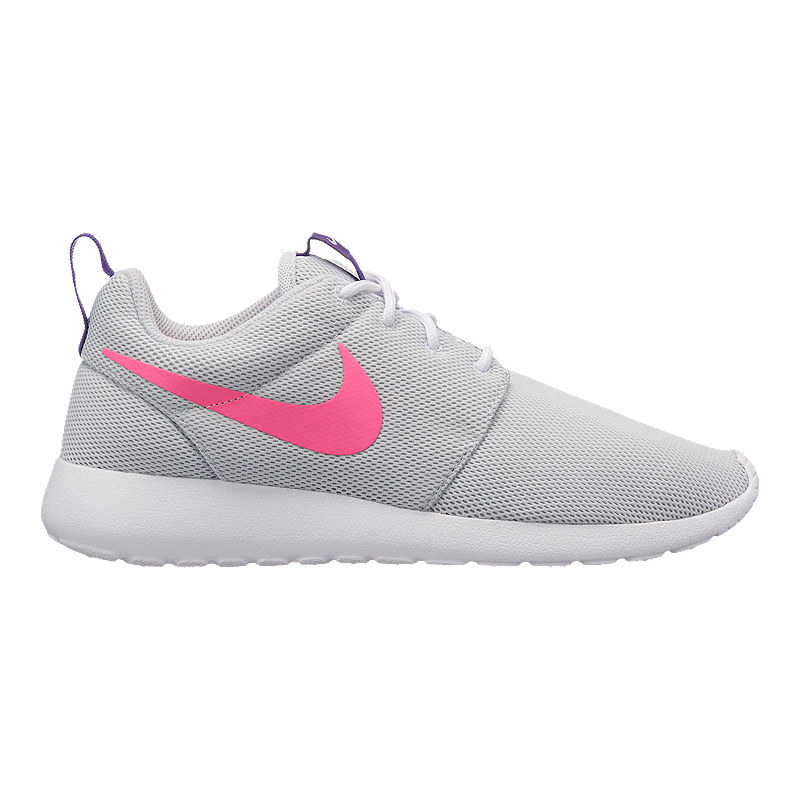 quality design 06845 48e0d ... new zealand nike womens roshe one shoes pure platinum pink purple sport  chek 09e8c c9563