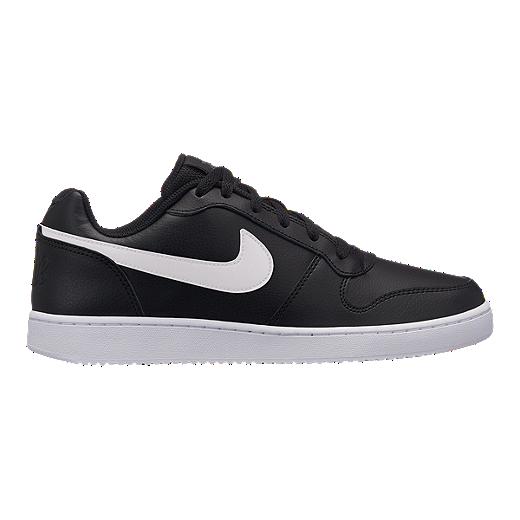 san francisco 4fac6 34b86 Nike Men s Ebernon Low Shoes - Black White - BLACK WHITE