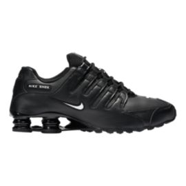 Nike Men's Shox NZ EU Shoes - Black