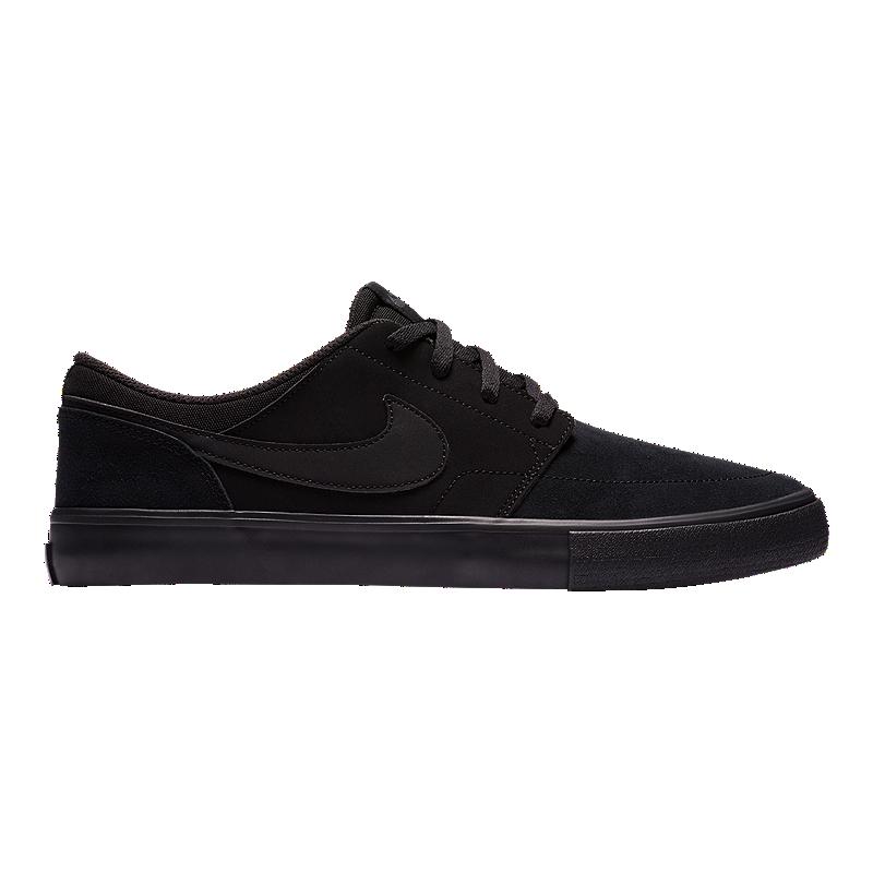 89e23151ee1a Nike SB Men s Portmore II Solar Skate Shoes - Black Anthracite ...